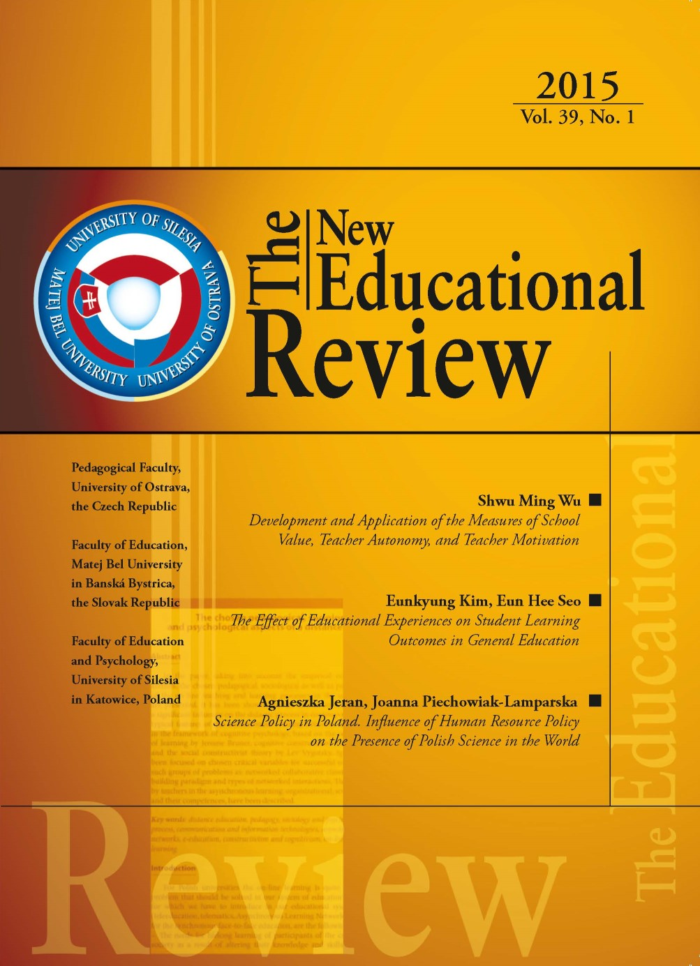 volume 39 2015 the new educational review